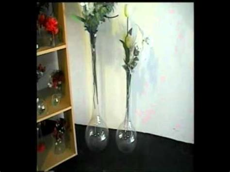 floreros de vidrio altos florero de vidrio gota alto flv