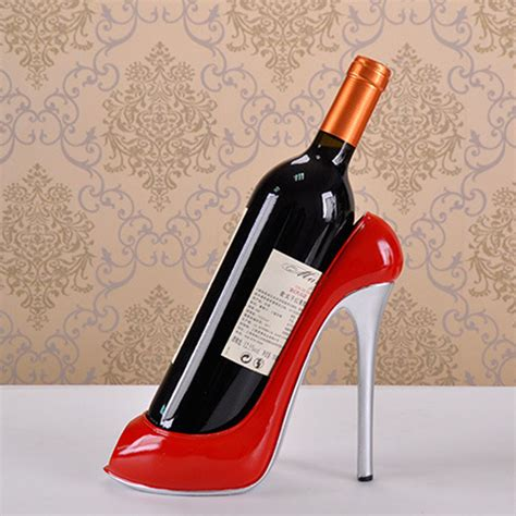 Shoe Wine Rack by High Heel Shoe Wine Bottle Holder Wine Rack Accessories