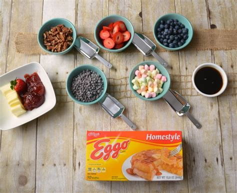 waffle bar toppings toppings for waffle bar eggo waffle bar amy latta creations