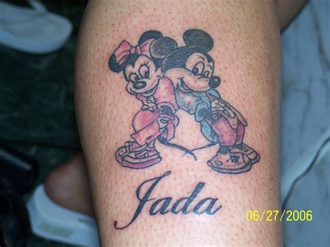 images of couple tattoos micky