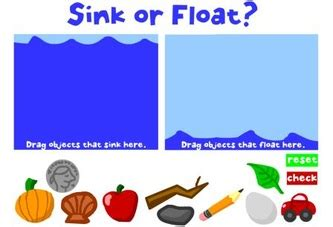 Objects That Sink And Float by Float Or Sink