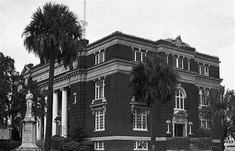 Hernando County Court Records Florida Memory Hernando County Court House Brooksville Florida
