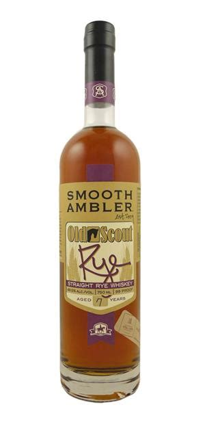 smooth ambler old scout bourbon smooth ambler old scout 7 year old 2015 straight rye