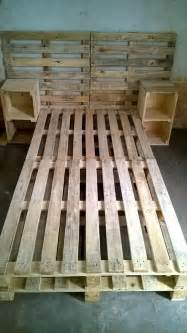 Easy Bed Frame Ideas 30 Easy Pallet Ideas For The Home Pallet Furniture Diy