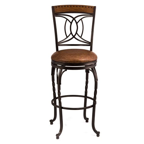 hillsdale donovan swivel counter stool bar stools at