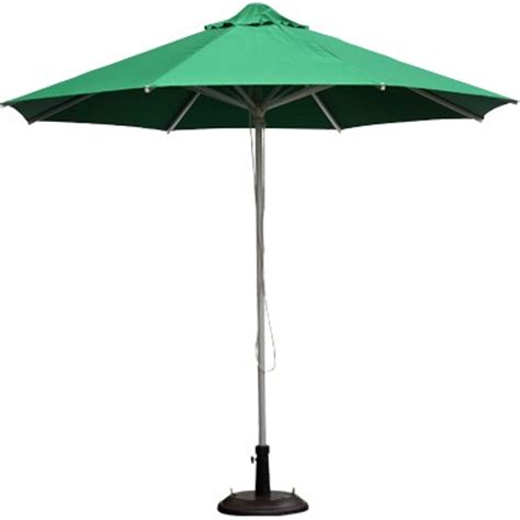 patio umbrella green green aluminum patio umbrella