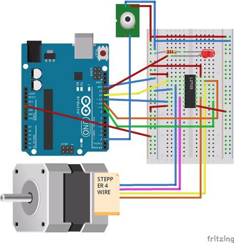 pir sensor met arduino activeren stappenmotor cadagilecom