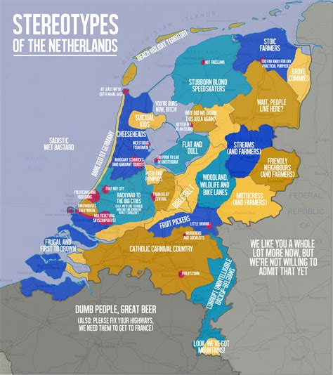 map of the netherlands netherlands irishmanabroad