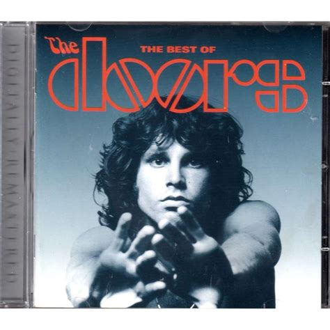 The Doors Album Cover by The Best Of The Doors By The Doors Cd With Mjlam Ref