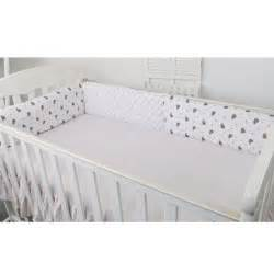 Toddler Bed Bumper Pad New Crib Bumper Baby Toddler Bed Protector
