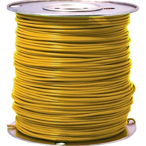 cerrowire 24 ft 16 yellow stranded primary wire 207