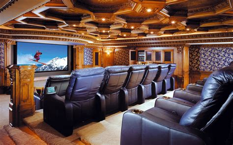 luxury home theater wallpapers and images wallpapers