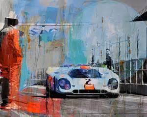 Porsche Artwork Porsche 917 Racing Legends Markus Haub Megadeluxe