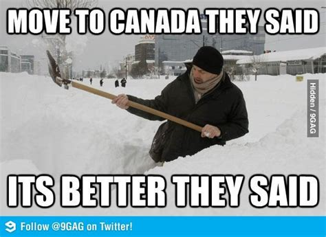 Canadian Meme - winter in canada sucks funny laughs pinterest