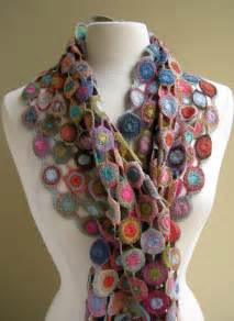 digard scarves crocheted crochet