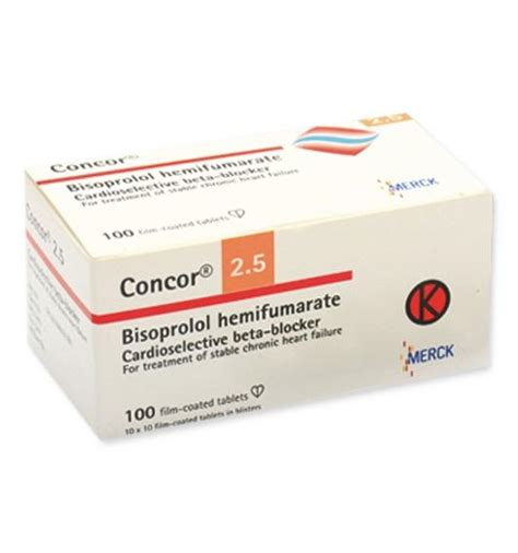Blockers Malaysia Concor Dosage Information Mims Indonesia