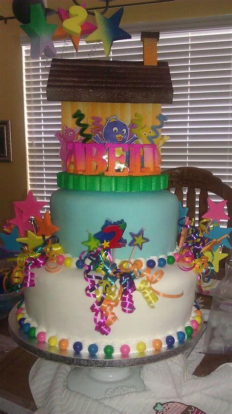 backyardigans cake my own cakes primer