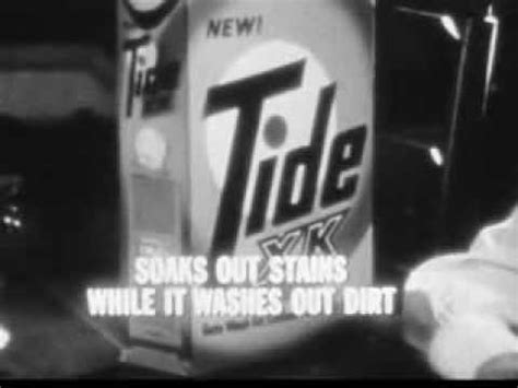 vintage tv commercials from the 1940s 50s 7 ads vintage old 1960 s p g tide xk laundry soap commercial