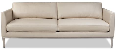 High Leg Sofa by American Leather Henley Sofa With High Leg