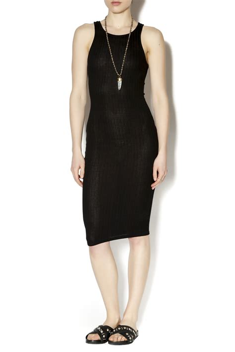 knit tank dress a rib knit tank dress from montclair by oasis
