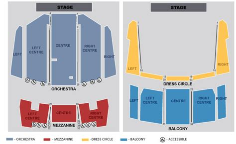 elizabeth theatre floor plan tickets don quixote vancouver bc at ticketmaster