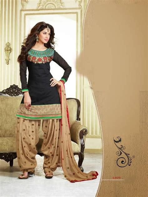patiyala dress pattern images black and beige chanderi cotton patiyala patiala salwar