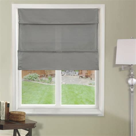curtain shade chicology cordless magnetic roman shade window blind