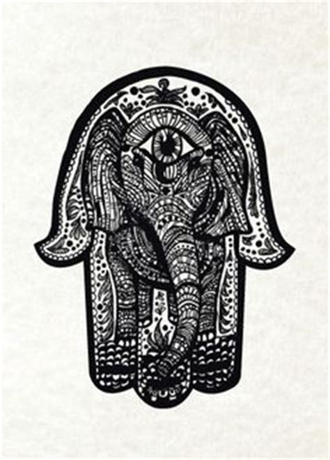 tattoo pen on head tribal elephant head tattoo design in black ink https