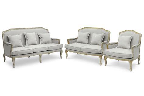 french sofa set constanza classic antiqued french sofa set interior express
