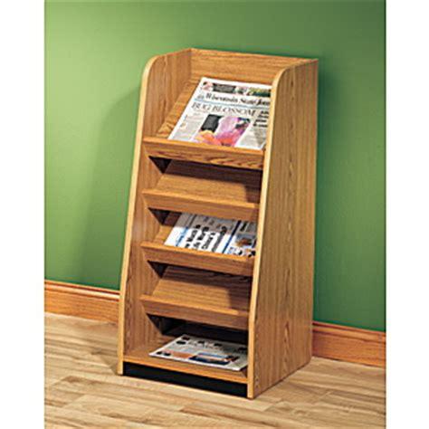 Newspaper Display Rack by Newspaper Display Shelves Newspaper Rack End Of Range