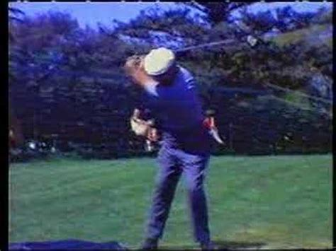 ben hogan slow motion golf swing hogan slomo iron swing youtube