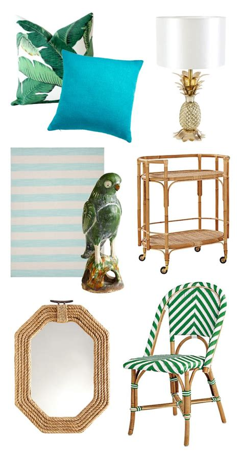 Tropical Home Decor Accessories by 25 Best Ideas About Tropical Decor On