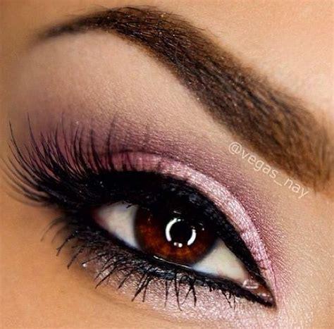 pink brown eyeshadow shimmery pink eye shadow hair makeup