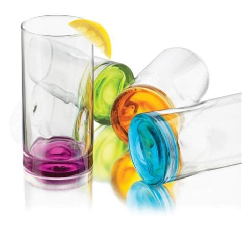 colored glasses sets libbey colored glasses set 4 kitchen