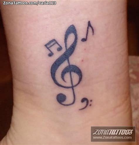 imagenes de tatuajes de notas musicales simbolos musicales tatuajes www pixshark com images