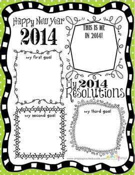 new year activities classroom 2014 new years resolutions for the classroom writing