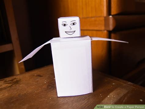 How To Make A Human Out Of Paper - 5 ways to create a paper person wikihow
