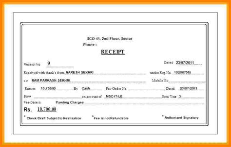 Driver Salary Receipt Template India by 8 Driver Salary Format Sales Slip Template