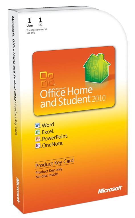 microsoft office home and student 2010 pkc 885370037067 ebay