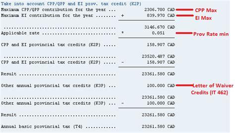Sap Credit Management Formula Provincial Tax Calculation Erp Human Capital Management Scn Wiki