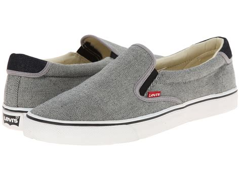 Levis Slip On levi s 174 shoes original tab slip on zappos free