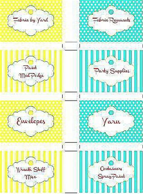 printable labels organizing free organizing labels
