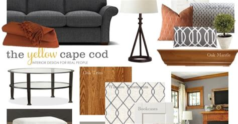 the yellow cape cod client project foyer before and after the yellow cape cod a beautiful updated living room with