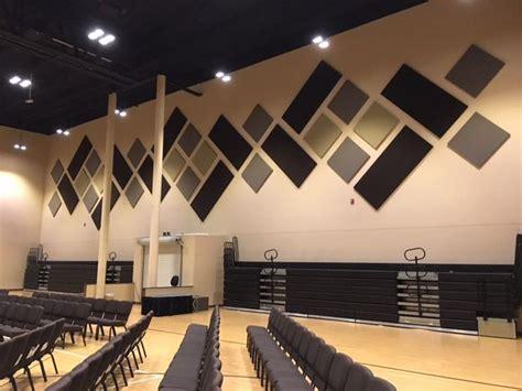 improve sound  acoustic panels  church sanctuary