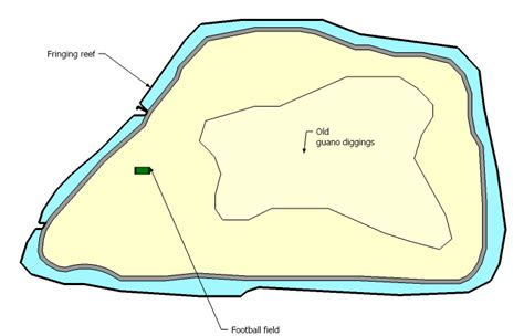 How Big Is 900 Square Feet jarvis island size