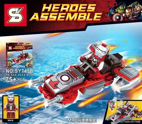 Brick Lego Mk37 Sy bootleg heroes minifigs worth it or not page 428 community eurobricks forums