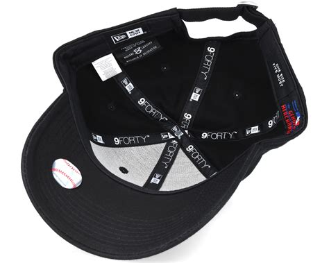 new era mlb new york yankees mlb league ess black 9forty adjustable