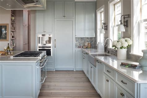 light blue kitchen ideas design trend blue kitchen cabinets 30 ideas to get you started home remodeling contractors