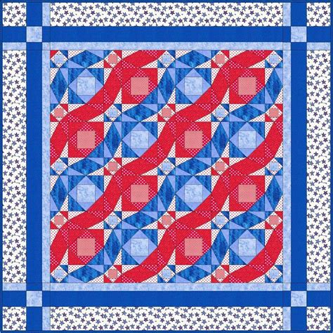 Freedom Quilts Patterns by Wave Freedom S Flag Quilt By Barbara Weiland Craftsy