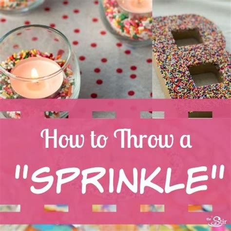 Sprinkle Baby Shower Food Ideas by Throwing A Baby Sprinkle In 12 Easy Steps Cafemom